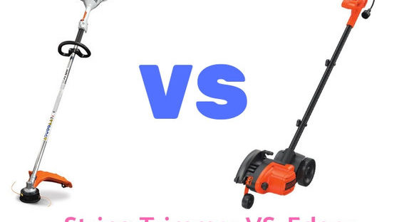 String Trimmer vs. Edger